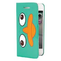 Samsung Galaxy S4 I9500 Funda Flip Cover Cartera Perry