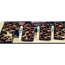 Funda Flip Cover Cartera Leopardo Apple Iphone 5 5s