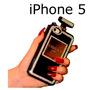 Funda Perfume Chanel Iphone 5 Con Pedrería, Elegante