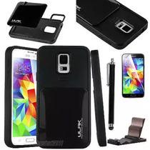 Samsung Galaxy S5 Fundatrasera Impacto + Mica+stylus Pluma