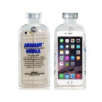 Funda Iphone 6 Estuche Forma Botella Absolut Vodka