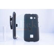 Funda Holster Clip Combo Huawei Y340 + Mica Grati