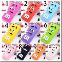 Funda Chocolate M&m Iphone 4 4s 5 5s 5c 6 Plus Galaxy Note 4