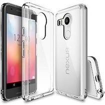 Nexus 5x Caso, Ringke [fusión] Borrar Pc Volver Tpu Parachoq