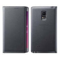 Funda Galaxy Note Edge Piel 100% Ejecutiva Contra Golpes