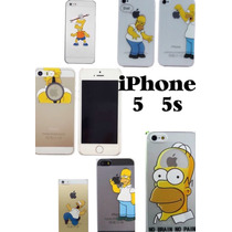 Case Para Iphone 5 Iphone 5s Homero Simpson!! A Meses!!!