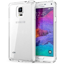 Funda Transparente Flexible Para Galaxy Note 4