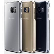 Funda Protective Cover Clear Samsung Galaxy S7 Edge Original