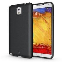 Caso Diztronic Mate Volver Negro Tpu Flexible Para Samsung G