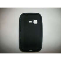 Protector Silicon Case Samsung Chat 2 S5270 Color Negro!!!