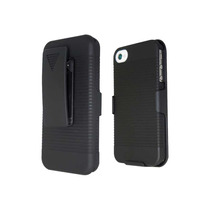 Funda Clip Holster 3 En 1 Para Iphone 4g Y 4s + Regalo
