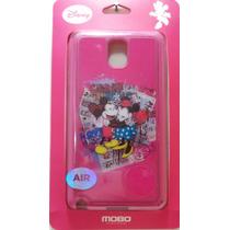 Tpu Samsung Note 3 N9000 De Mickey Y Mimi Mobo Original