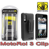 Motoroi 3 Xt860 Droid 3 Funda Clip Original Body Glove
