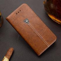 Elegante Funda Cartera Piel Galaxy Note 5 Billetera Tarjeter