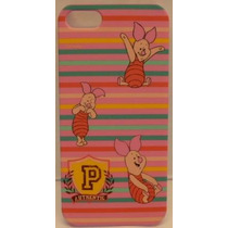 Funda Protector Mobo Apple Iphone 5/5s Piglet Lineas/rosa