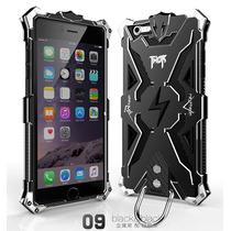 Hybrid Thor Bumper Metálico Para Iphone 6 6s Plus-negro