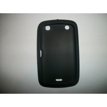 Protector Silicon Case Blackberry 9380 Color Negro!!