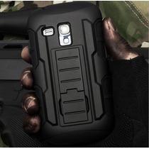 Funda Clip Uso Rudo Hibrido 3 En 1 Armor Galaxy S3 Mini