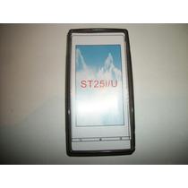 Protector Tpu Sony Ericsson Xperia U St25 Color Humo!!!