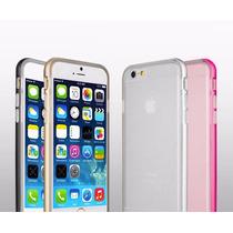 Bumper Aluminio Case Apple Iphone 6 6s Y Plus Tpu Metal Tapa