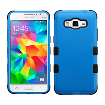 Funda Doble Uso Rudo Samsung Galaxy Grand Prime G530 Azul