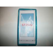 Protector Tpu Sony Ericsson Xperia U St25 Color Azul!!!