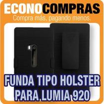 Funda Combo Tipo Holster Para Nokia Lumia 920 100% Nueva