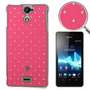 Funda Sony Xperia V/lt25i Pink Entrega10dias Mdec|0023f