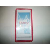Protector Tpu Sony Ericsson Xperia U St25 Color Rosa!!!