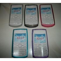 Wwow Protector Tpu Nokia X2-01 Excelentes!!!
