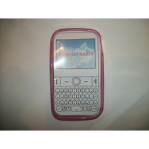 Protector Tpu Samsung Chat 2 S5270 Color Rosa!!!