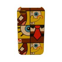 Funda Protector Mobo Apple Iphone 4/4s Bob Esponja/mosaico