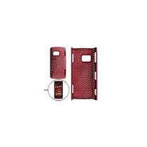 Protector Rigido Rojo Para Nokia X6