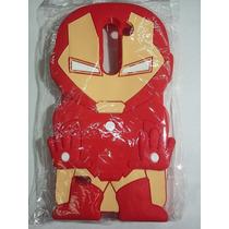 Protector Goma Botarga 3d Lg G3 Stylus Iron Man