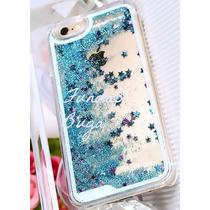 Funda Iphone 5c 5 C Brillos Estrellas Movil Cascada Agua