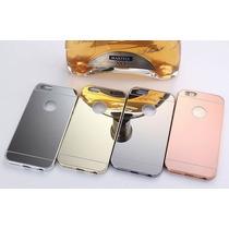 Bumper Lujo Mirror Espejo Aluminio Apple Iphone 6 Y 6 Plus