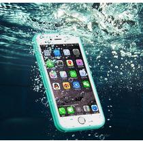 Funda De Gel De Silicona Goma Dura Sumergible Iphone 6/6 P