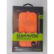 Estuche Protector Griffin Survivor Iphone 5s Original