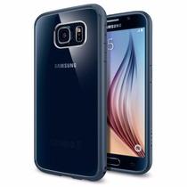 Galaxy S6 Funda Spigen Ultra Hybrid Codigo Autenticidad Orig
