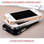 Bumper Aluminio Ultra Delgado 0.7mm Iphone 4/4s + Mica Doble