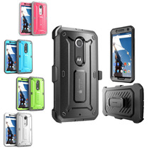 Nexus 6 Funda Con Clip Supcase Unicorn Beetle Pro Original