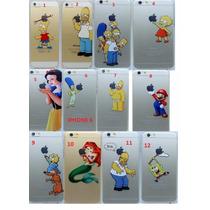 Funda Case Homero Simpson Blanca Nieves Iphone 6