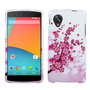 Funda Protector Lg Nexus 5 D820 Blanco/rosas