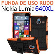 Funda Protector Uso Rudo Nokia Lumia 640 Xl