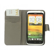 Flip Cover Cartera Vinipiel Htc One X