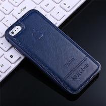 Funda Bumper Lujo Aluminio Luxury!! Piel. Iphone 6/6 Plus