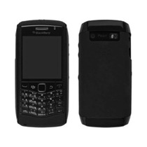 Oem Blackberry Hardshell Y Piel Caso Para Blackberry 9100
