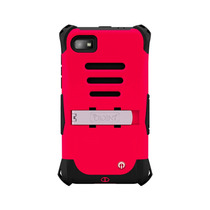 Trident Kraken Funda Protector Uso Rudo Blackberry Z10 Rojo