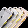 Case Transparente Iphone 6 Bumper Aluminio Tapa Cristal