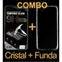 Combo Cristal Templado Y Protector Transparente Samsung S4